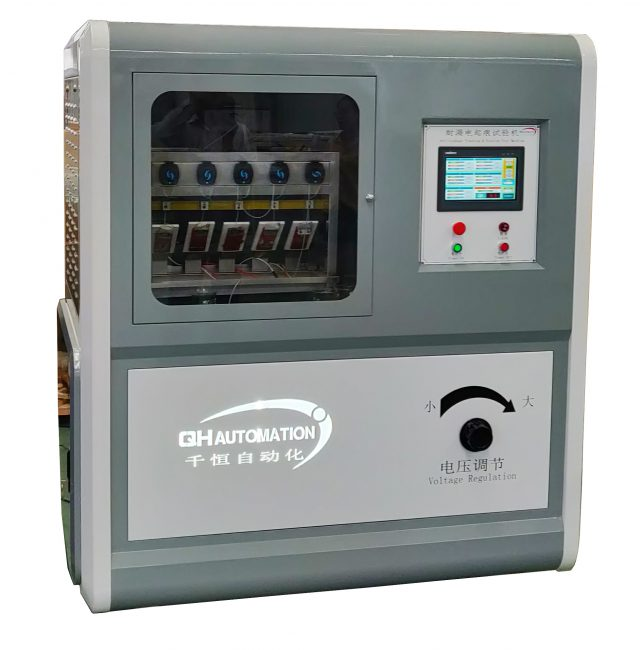 Anti-tracking erosion testing machine for HV silicone rubber insulator